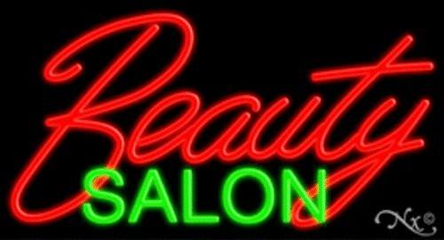 Beauty Salon Handcrafted Energy Efficient Real Glasstube Neon Sign
