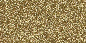 "American Crafts Glitter Cardstock 12""X12""-Gold"