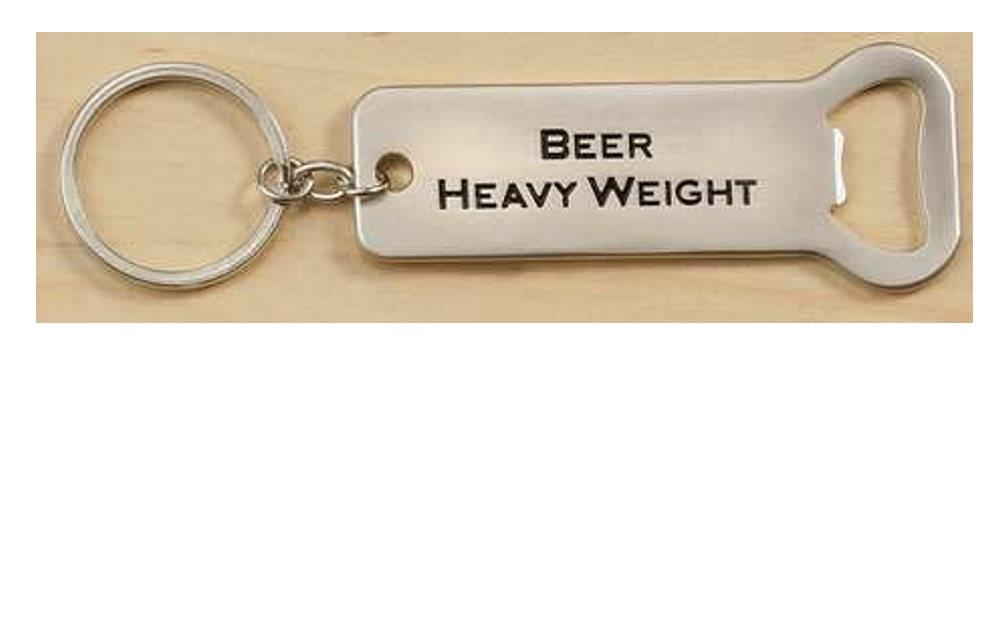 Bottle Opener/Keychain by Giftcraft, Choice of Style