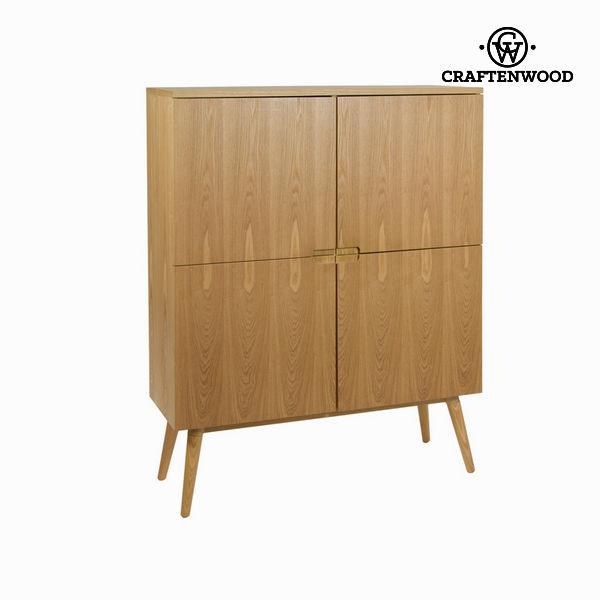 Ash glass cabinet - Modern Collection by Craftenwood
