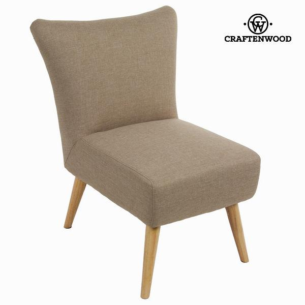 Armchair Beige (85 x 65 x 70 cm) - Love Sixty Collection by Craftenwood