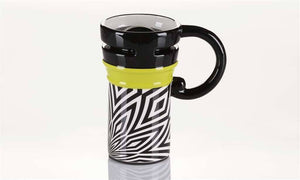 Giftcraft ULU Ceramic Travel Mug, Choice of Rim Color