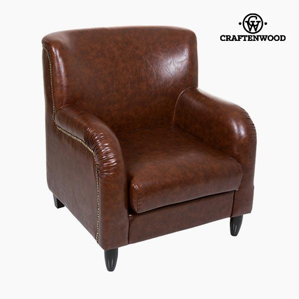 Armchair Polyskin Brown - Relax Retro Collection by Craftenwood