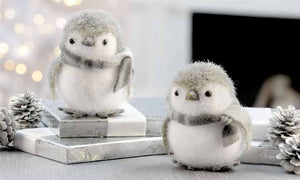 Giftcraft Penguin Figurines, Set of 2