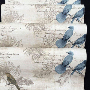 Save f u blue birds vinyl contact paper self adhesive shelf drawer liner wall stickers for home room wall decal cabinet arts and crafts 17 7 x 393 inch roll