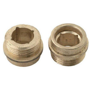 "BrassCraft Faucet Seats for Kohler, 1/2"" x 27 Thread, Brass, #SC1157X"