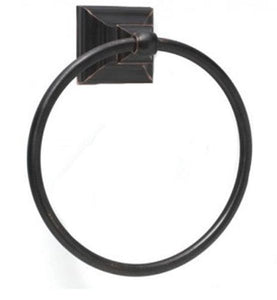 Amerock 6 3/4 Inch Markham Arts and Crafts Towel Ring