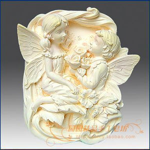 Angel Silicone Soap mold  Craft 3d soap molds