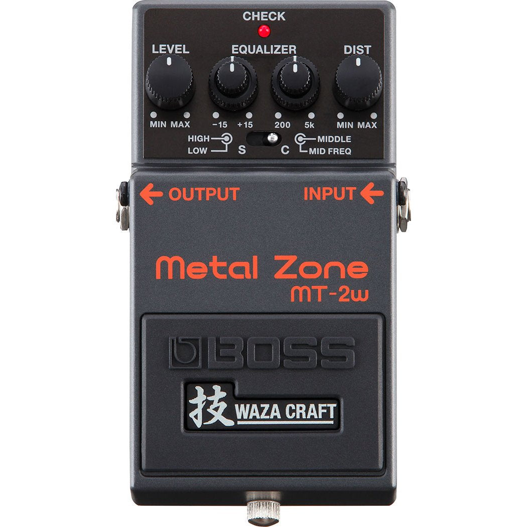 Boss MT-2W Waza Craft Metal Zone Distortion Pedal
