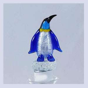 Blue Penguin Hand Crafted Bottle Stopper