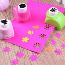 Load image into Gallery viewer, Baby 1PCS Drawing Toys Child 20 Styles Hole Punch Mini Printing Paper Hand Shaper Scrapbook Tag Card Craft DIY Punch Cutter Tool
