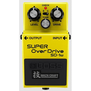 Boss SD-1W Super Overdrive Waza Craft Special Edition Pedal