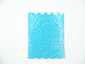 American Crafts Blue Stripes 3PCS Card