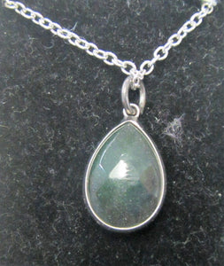 Beautiful handcrafted silver plated necklace with various colour teardrop Bezel Quartz