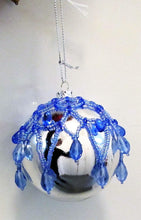 Load image into Gallery viewer, Beautiful handcrafted Christmas beaded baubles
