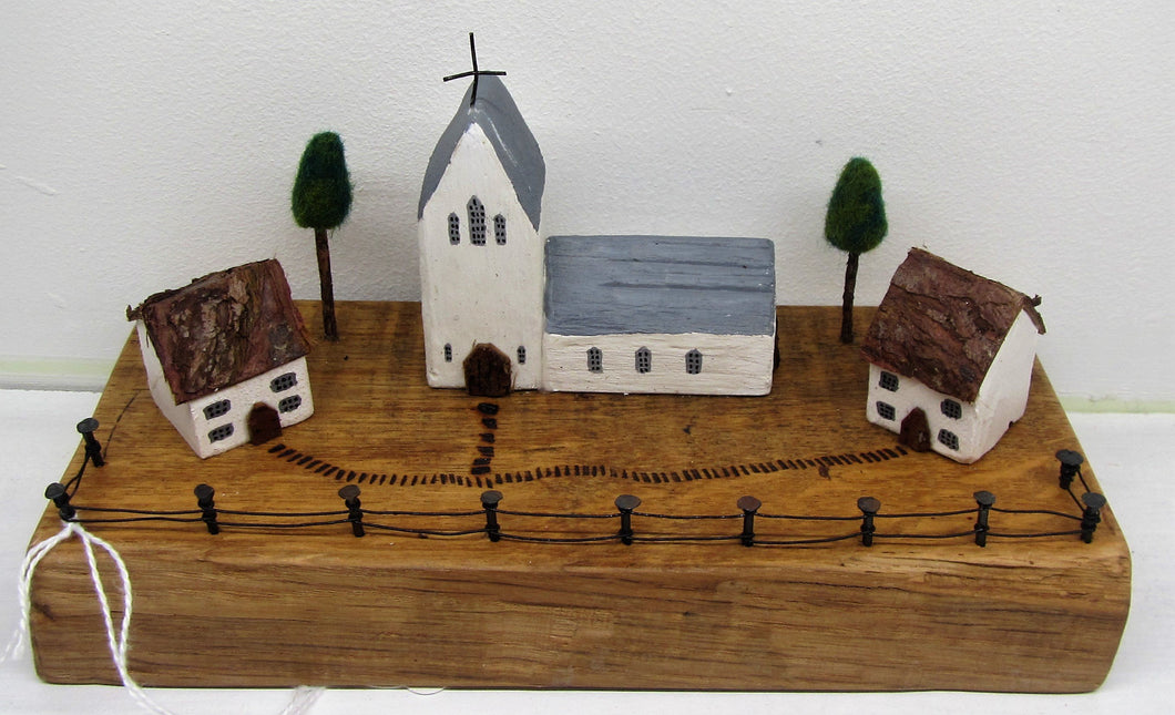 Beautiful handcrafted wooden vicarage churches in various designs