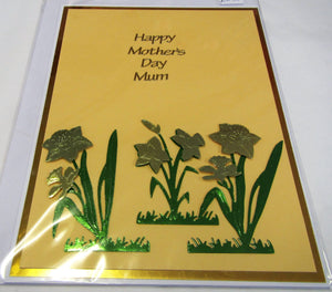 Beautiful handcrafted Mother's Day card