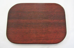 Beautiful handcrafted reclaimed mahogany wooden chopping boards