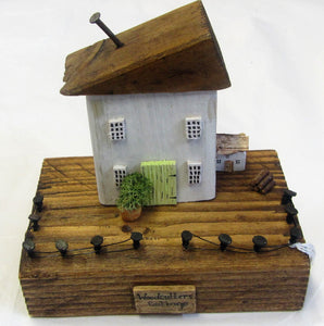 Beautiful handcrafted wooden Woodcutters Cottage