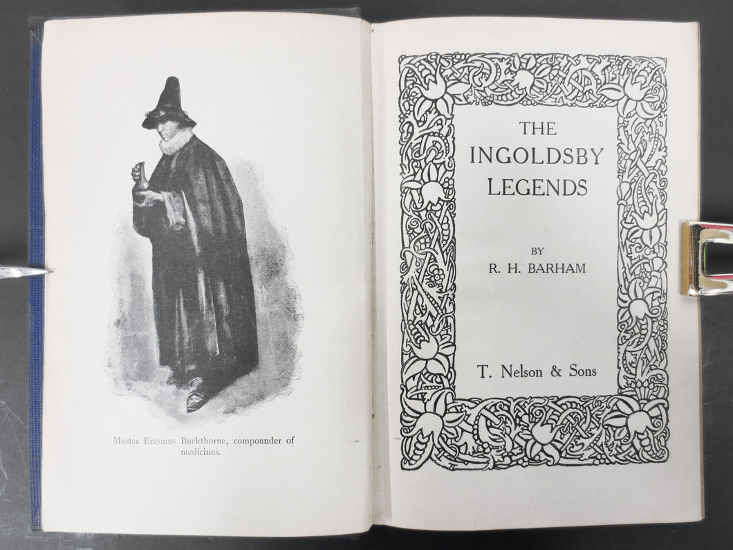 Antique 1912 The Ingoldsby Legends by RH Barham, Sorcerer