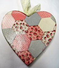 Load image into Gallery viewer, Beautiful handcrafted decorative hearts - various patterns