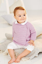 Load image into Gallery viewer, Babies Cardigans in Stylecraft Bambino (9503)