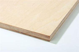 Balsa 1/16 x 6 x 24 - 3 ply Birch Aircraft Plywood (A335)