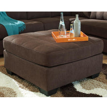 Load image into Gallery viewer, Benchcraft Maier Oversized Accent Ottoman in Microfiber