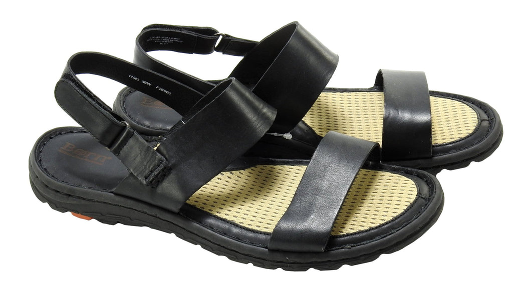 Born Womens Shoe Size 11 Handcrafted Footwear Andor Sandal, Black