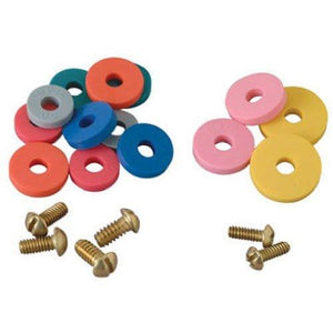 Brasscraft Flat Washer Assortment with Screws, SC2190