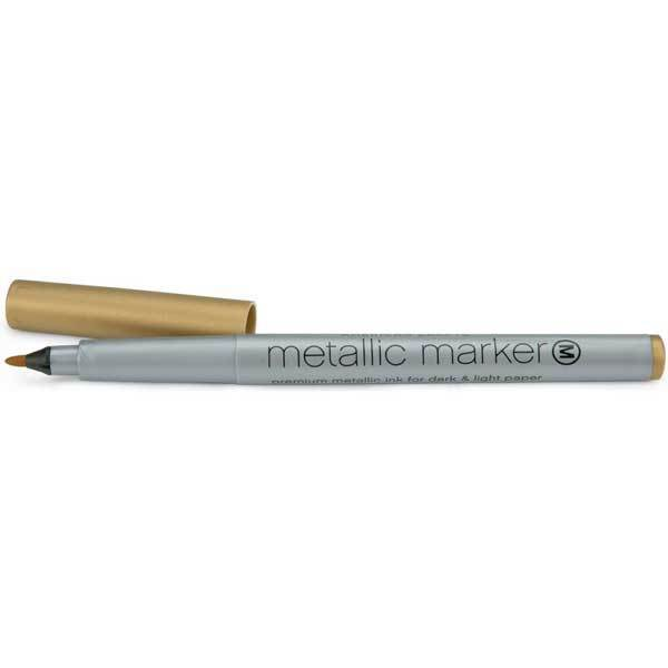 American Crafts Metallic Marker Gold