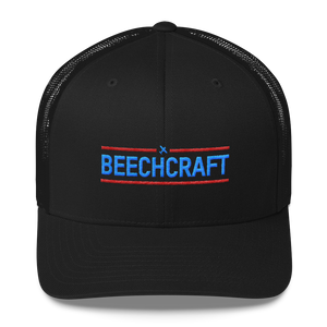 Beechcraft - Retro Trucker Cap
