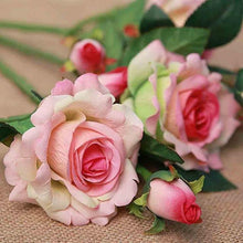 Load image into Gallery viewer, Artificial Flowers For Wedding Decoration Mariage Birthday Party Crafts Bridal Bouquet Floral