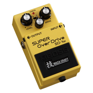 Boss SD1-W Waza Craft Custom Super Overdrive