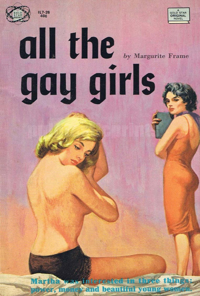 All The Gay Girls Vintage Print