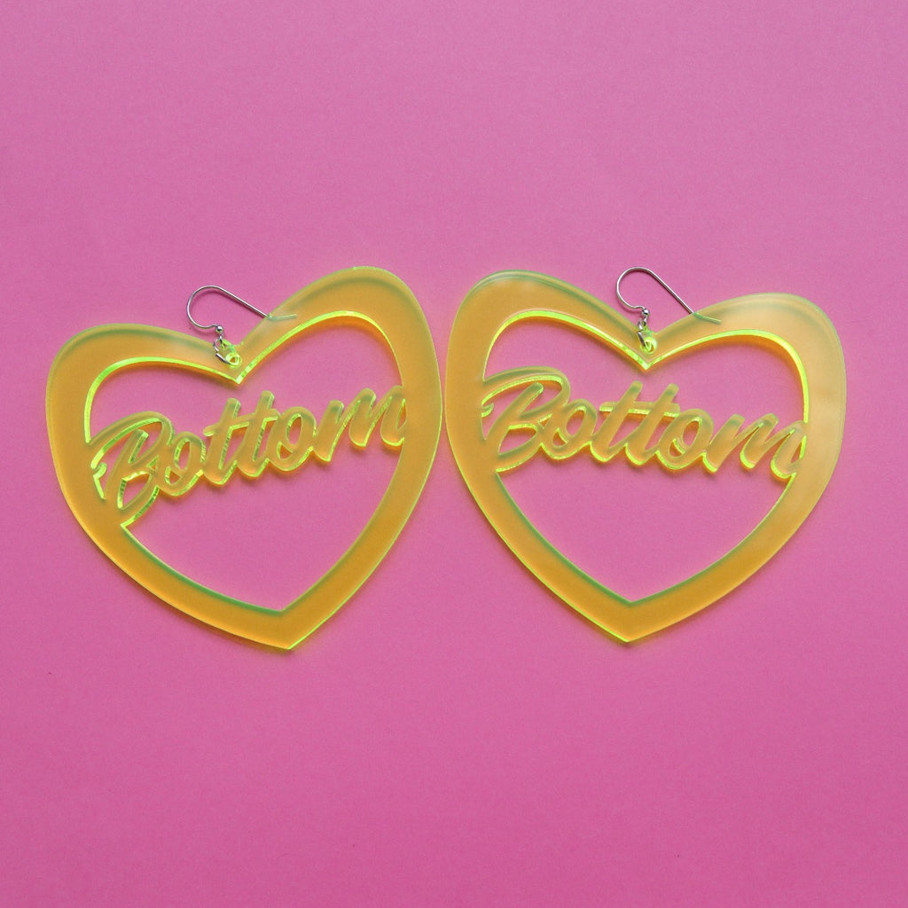 Bottom Heart Earrings