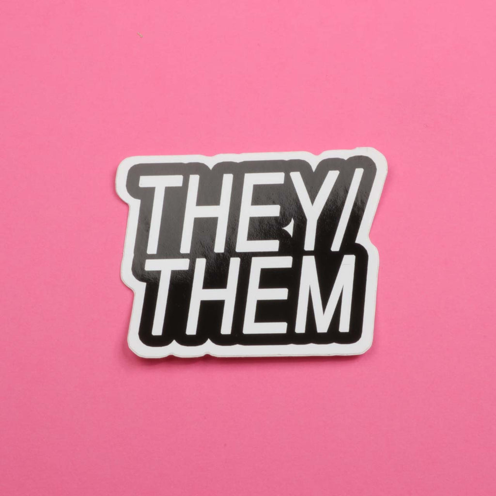 They/Them Sticker