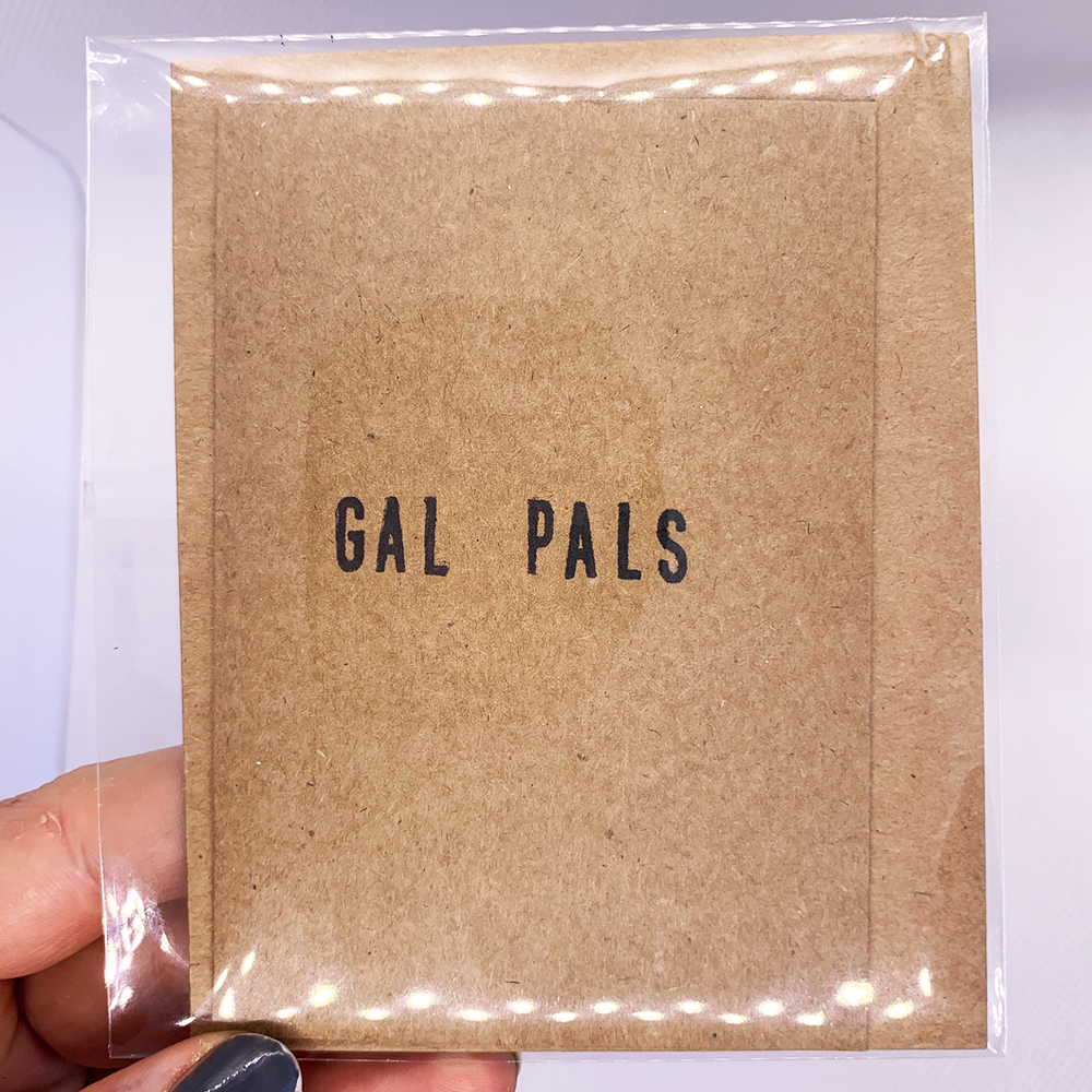 Gal Pals Greeting Card