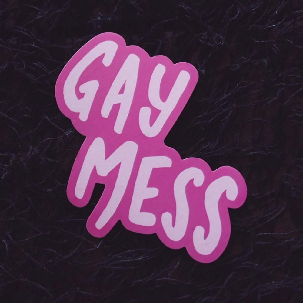 Gay Mess Sticker
