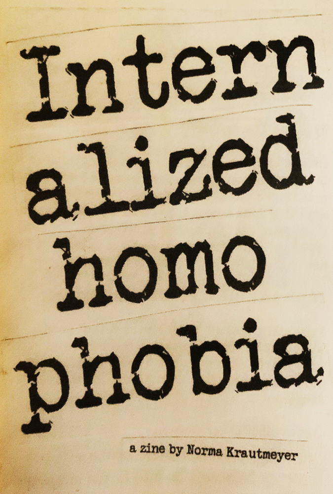 Internalized Homophobia Zine