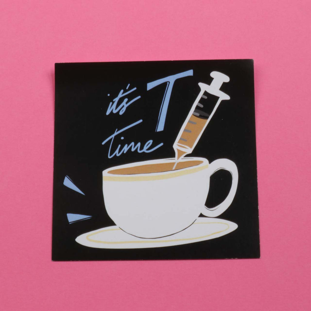It's T Time! Sticker