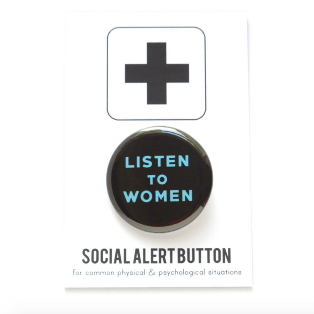 Listen To Women Badge