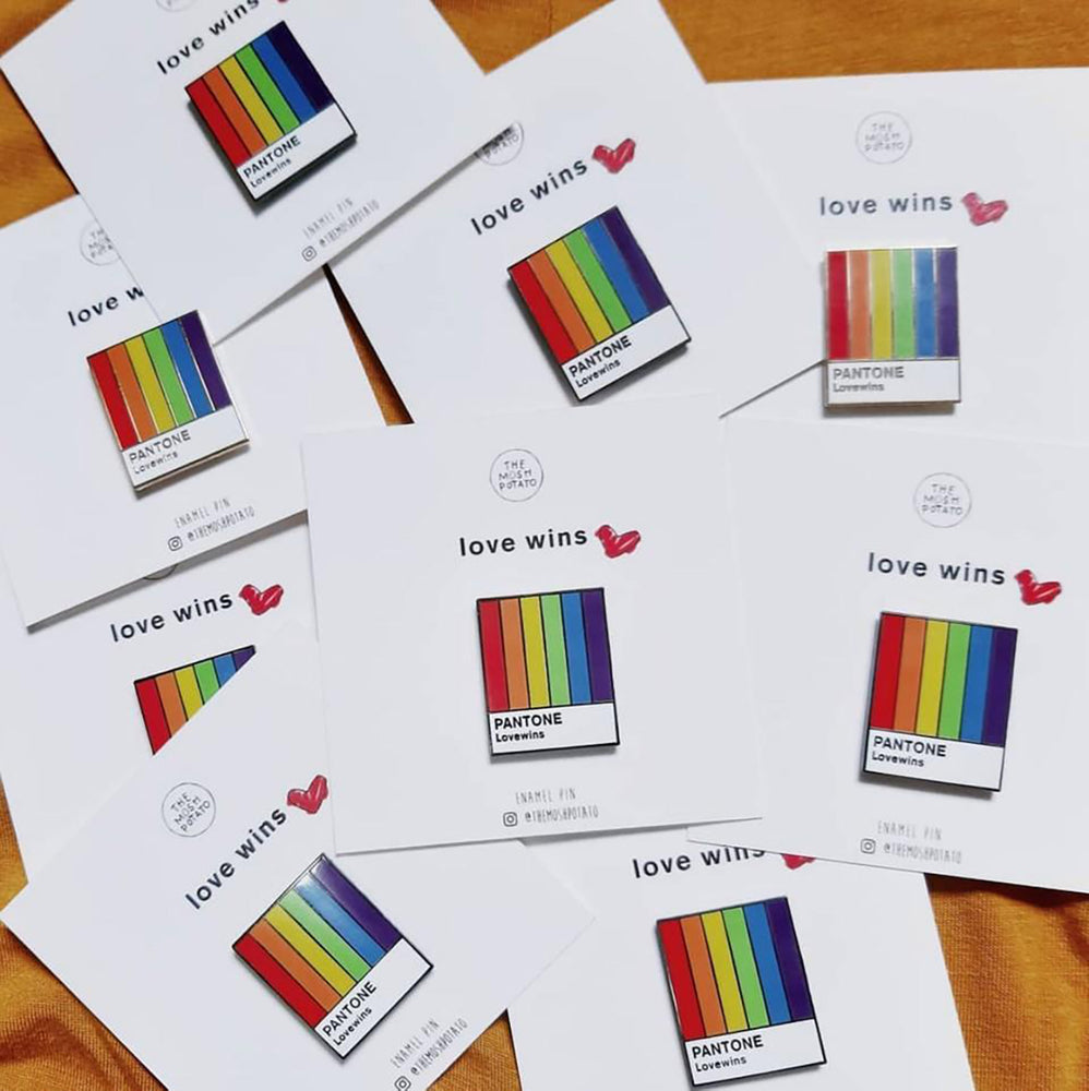 [Product_type] - Pantone Pride Pin - agnes-and-edie.myshopify.com