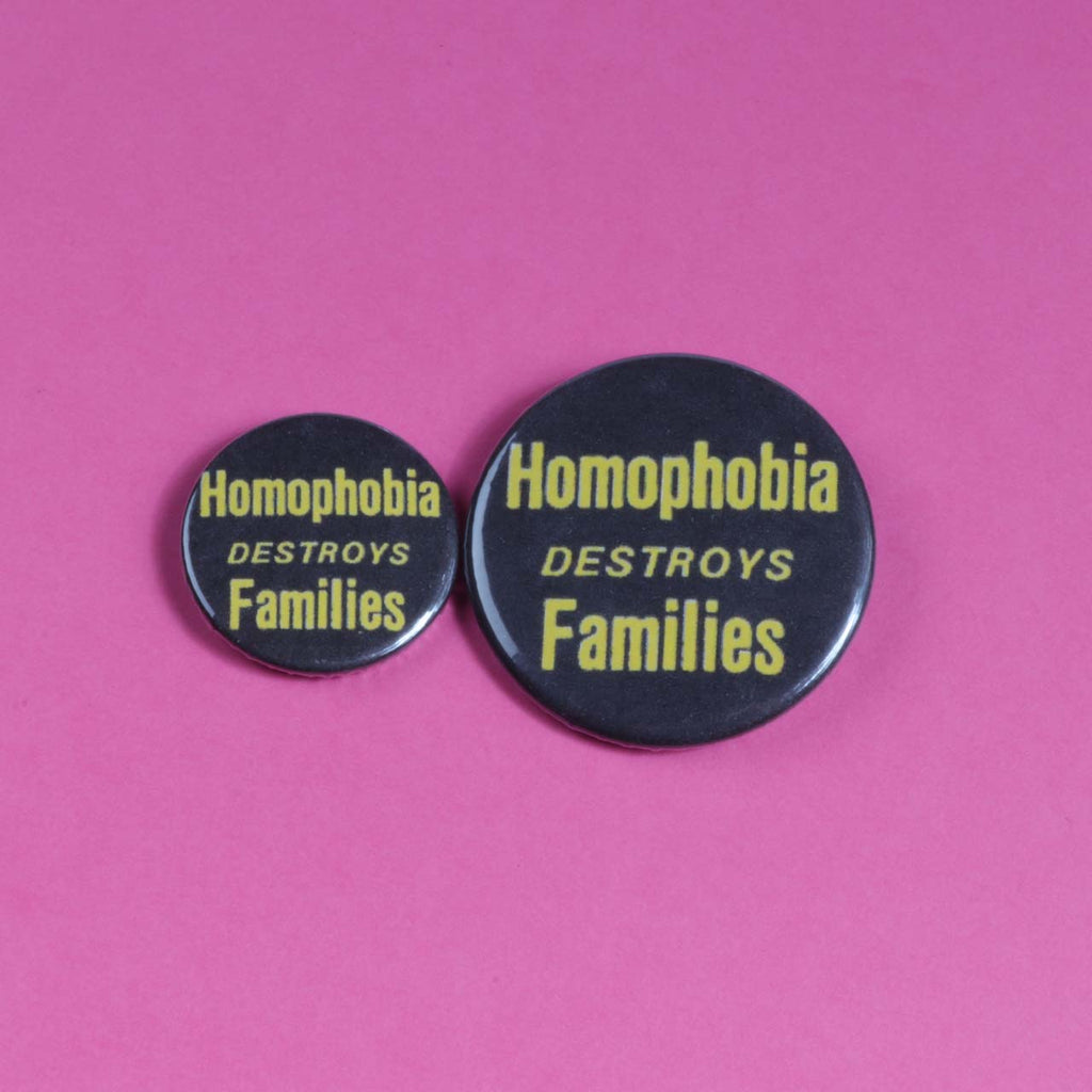 Homophobia Destroys Families Badge