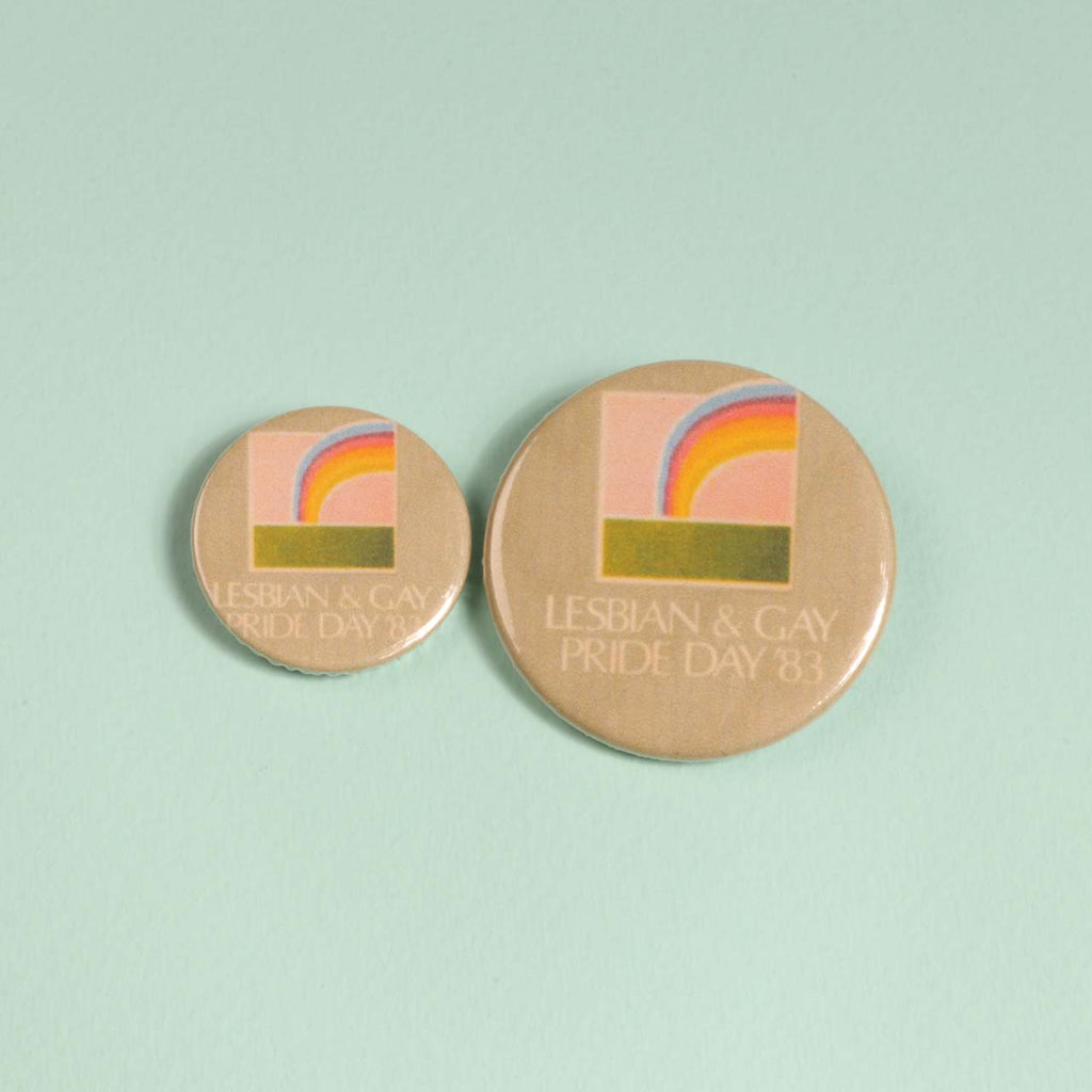 Lesbian And Gay Pride Day '83 Badge
