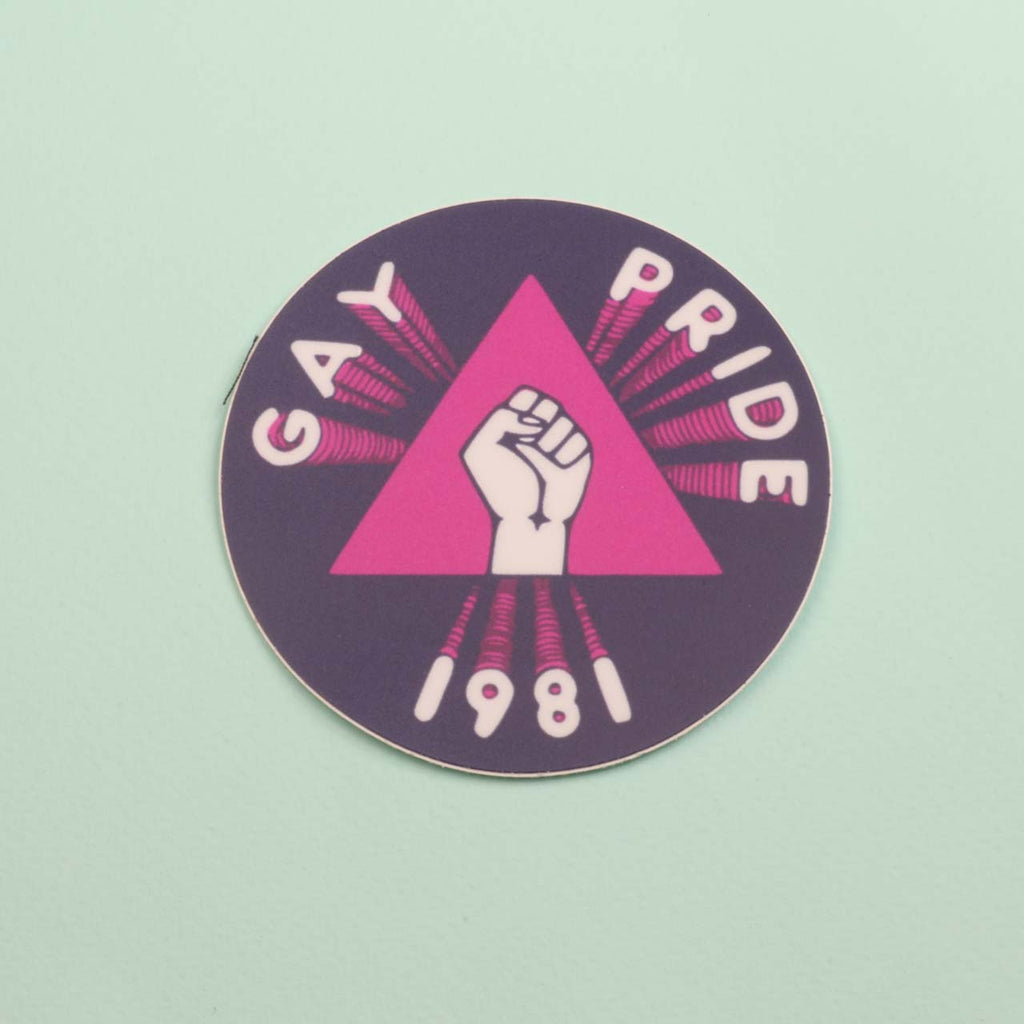 Gay Pride 1981 Sticker