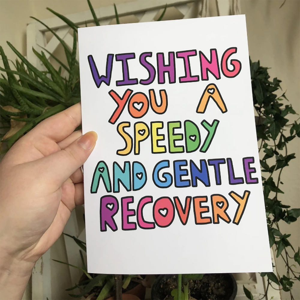 [Product_type] - Wishing You A Speedy And Gentle Recovery Card - agnes-and-edie.myshopify.com
