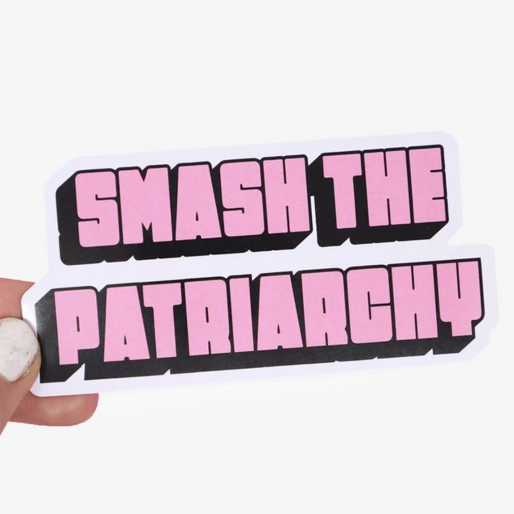 [Product_type] - Smash The Patriarchy Sticker - agnes-and-edie.myshopify.com