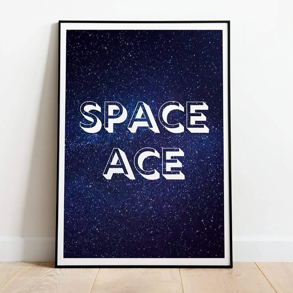 Space Ace Print