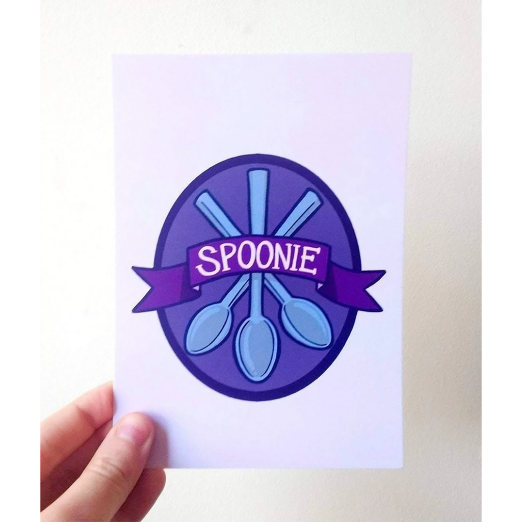 [Product_type] - Spoonie Postcard - agnes-and-edie.myshopify.com